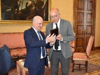 Visit of the Rector of the University of Tirana, Prof.Dr. Dr. Mynyr Koni, University of Turin, Italy