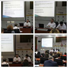 Academic Staff Training Session on International Projects Application Procedures