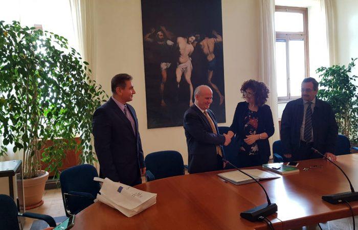Vizita e Rektorit të Universitetit të Tiranës, Prof. Dr. Mynyr Koni, në Universitetin e Studimeve të Tuscia-s në Itali