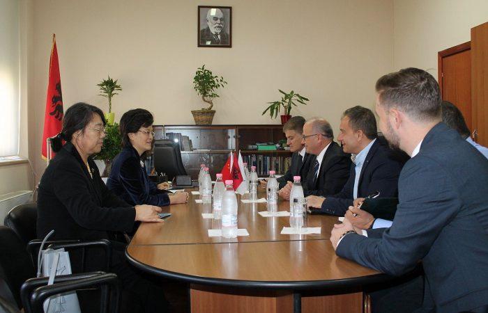 Hapa konkrete në rritje të bashkëpunimit midis Universitetit të Tiranës dhe universiteteve të Republikës Popullore të Kinës