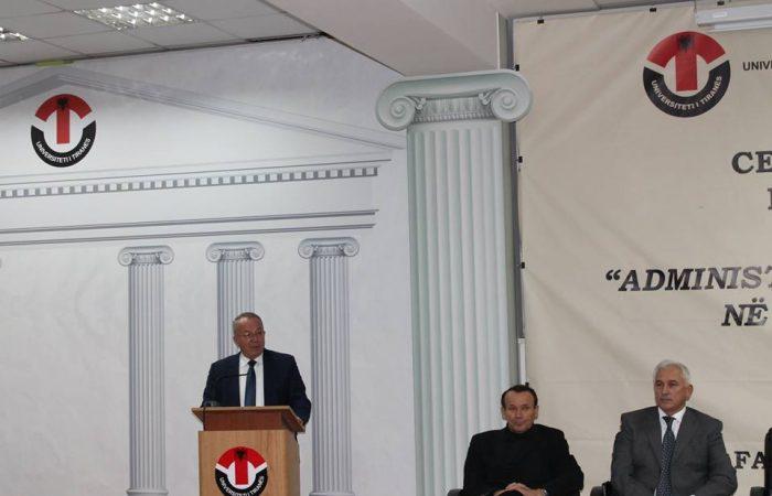 """Ceremonia e Diplomimit për Masterin Ndërdisiplonor """"Administrimi i Institucioneve Sociale në Sistemin e Drejtësisë"""""""
