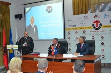 Honoris Causa Hashim Thaçi