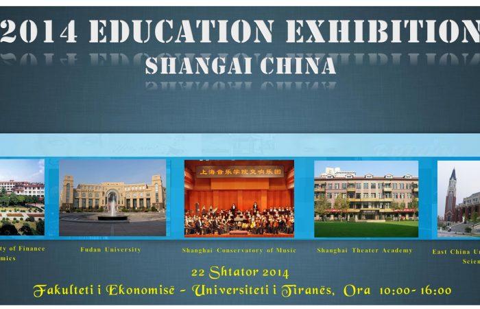 """Panairi """"Shanghai International Education Fair 2014"""" një mundësi shumë e mire për të studiuar në Kinë"""