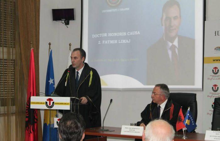 Honoris Causa Fatmir Limaj