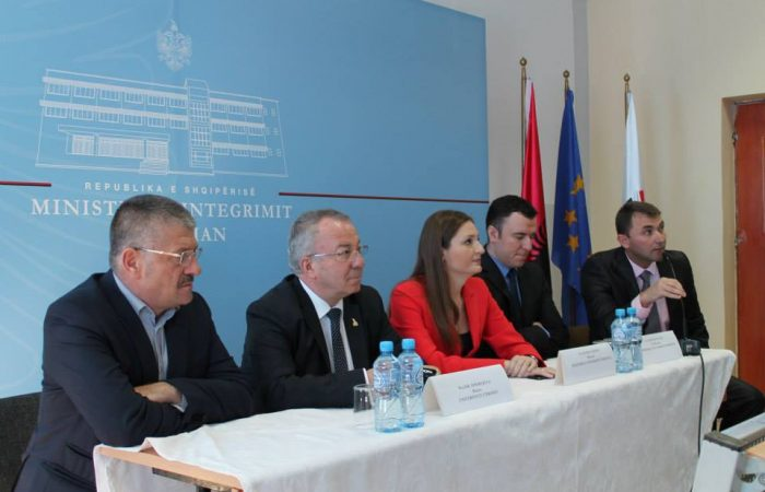 Takim me Ministren e Integrimit Zj. Klajda Gjosha-UT