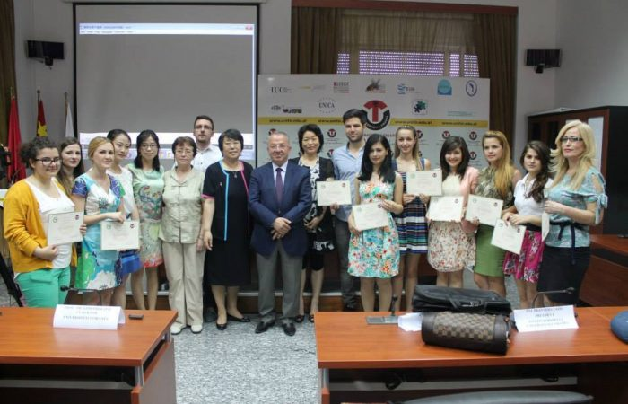Ceremonia e dhënies së Certifikatave, Instituti Konfuci – Universiteti i Tiranës