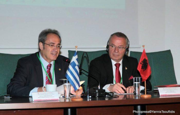 Vizitë e Rektorit të UT-së në Universitetin Aristotel, Selanik