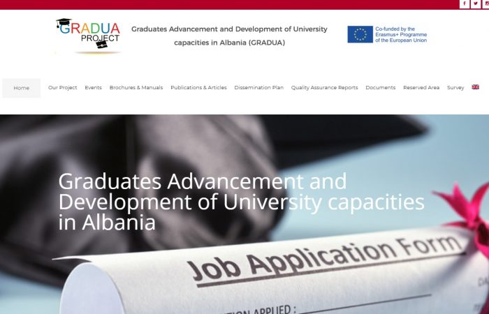 Graduades Advancement and Development of University Capacities in Albania- GRADUA