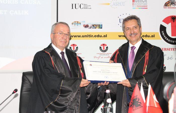 Honoris Causa Ahmet Çalık