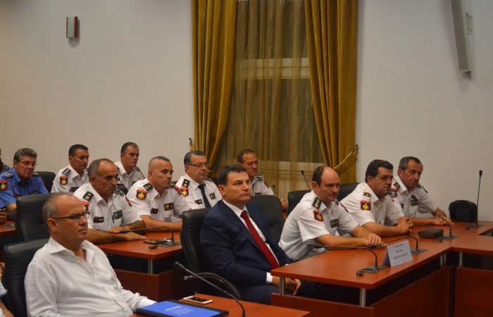 Nënshkrimi i marrëveshjes së bashkëpunimi midis Universitetit të Tiranës dhe Akademisë së Policisë