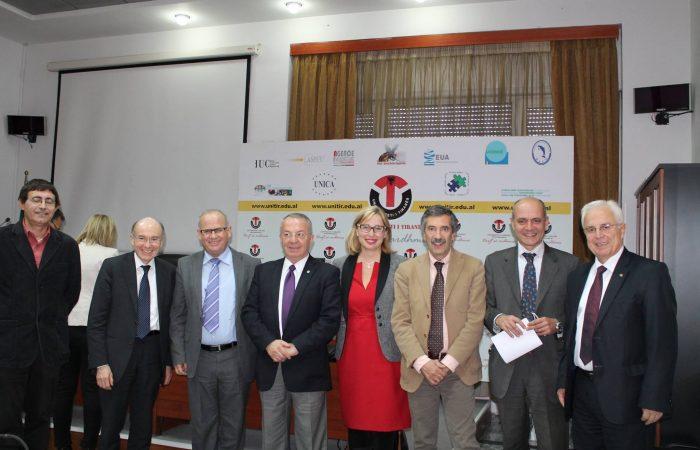 Nënshkrim marrëveshje midis Institutit Kombëtar për Fizikën Bërthamore, Itali dhe UT