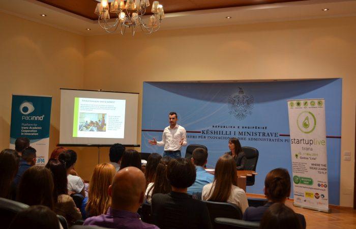Pre – Meeting StartUp Live Tirana
