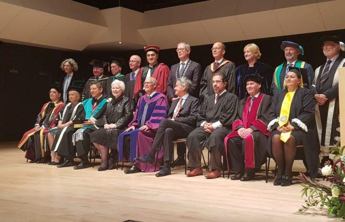 Vizita e Rektorit të Universitetit të Tiranës Prof. Dr. Mynyr Koni në Kanada, për firmosjen e Magna Charta