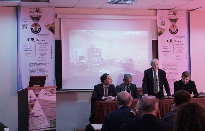 Rektori i UT merr pjesë në hapjen e konferencës shkencore ndërkombëtare të fizikës ICAP 2019