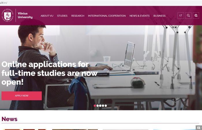 Hapet thirrja për aplikime për bursa për studentët në kuadër të Programit Erasmus + në Universitetin Vilnius, Lituani për semestrin e dytë të vitit akademik 2019-2020.