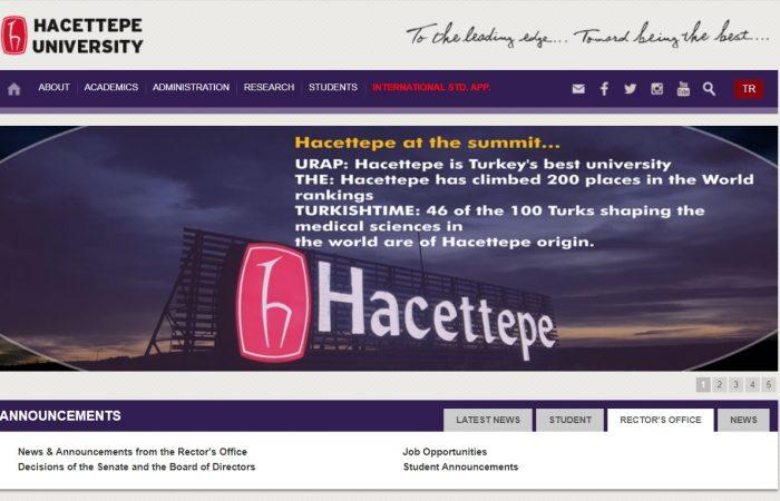 Hapet thirrja për aplikime për studentët në Universitetin Hacettepe, në Turqi, në kuadër të Programit Erasmus +, për semestrin e dytë të vitit akademik 2019-2020.