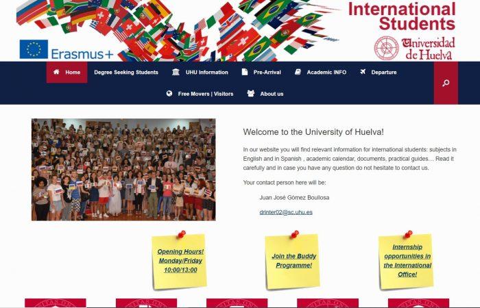 Hapet thirrja për bursa për studentët e Universitetit të Tiranës në Universitetin Huelva, Spanjë në kuadër të Programit Erasmus +, për semestrin e dytë të vitit akademik 2019-2020