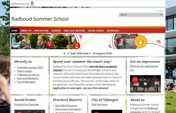 Në kuadër të programit Erasmus+ KA107 hapet thirrja për aplikime për Shkollat Verore në Universitetin Radboud, Hollandë