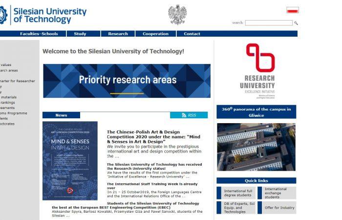 Hapet thirrja për bursa në kuadër të programit Erasmus + për stafin akademik me kohë të plotë të Universitetit të Tiranës në Universitetin Silesiantë Teknologjisë, Poloni, për semestrin e dytë të akademik 2019-2020
