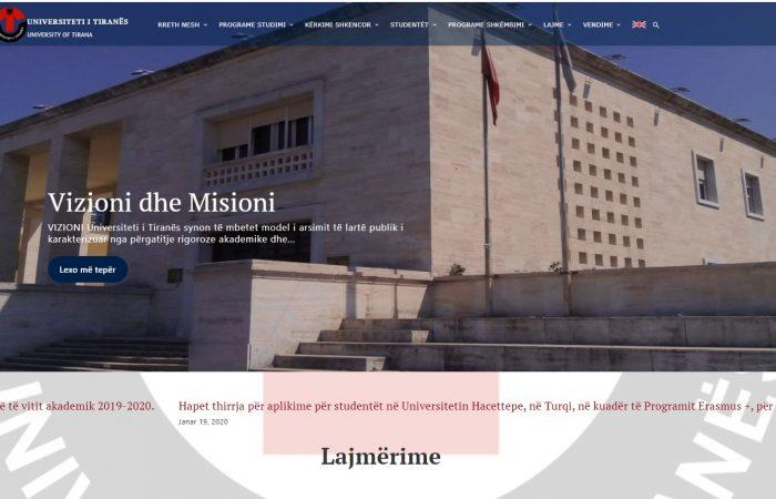Mbledhja e Senatit Akademik të Universitetit të Tiranës do të zhvillohet ditën e hënë, datë 10 Shkurt 2020, ora 11:00.