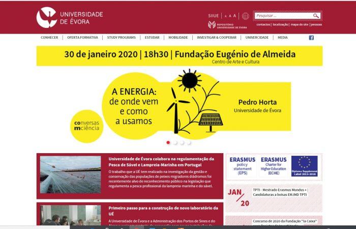 Hapet thirrja për aplikime për studentët e Universitetit të Tiranës në Universitetin e Evora, në Portugali, në kuadër të programit Erasmus +, për semestrin e dytë të vitit akademik 2019-2020.
