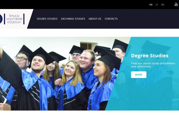 Hapet thirrja për bursa në kuadër të Programin Erasmus + për stafin akademik me kohë të plotë të Universitetit të Tiranës në Šiauliai State College, Lituani për vitin akademik 2019-2020.