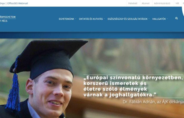 Hapet thirrja për aplikim për bursa në kuadër të programit Erasmus+ në Universitetin e Pecs, Hungari