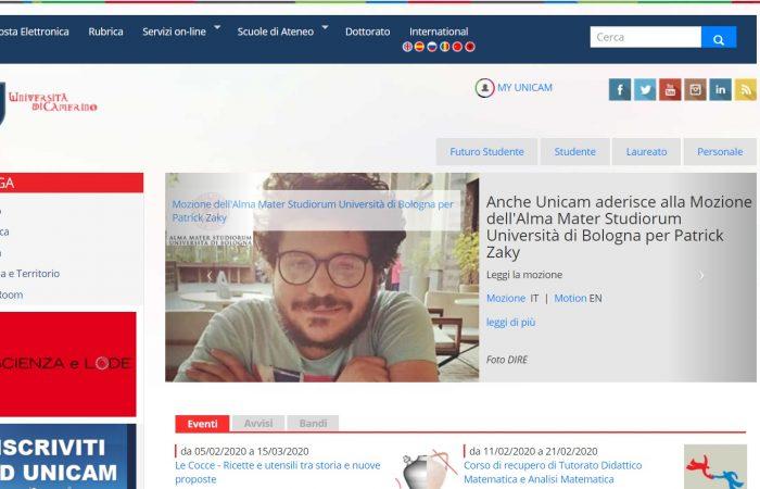 Hapet thirrja për aplikime për bursa Erasmus+ në Universitetin e Camerinos, Itali