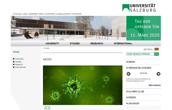 Hapet thirrja për aplikime në kuadër të programit Erasmus+ në Universitetin e Salzburg-ut, Austri