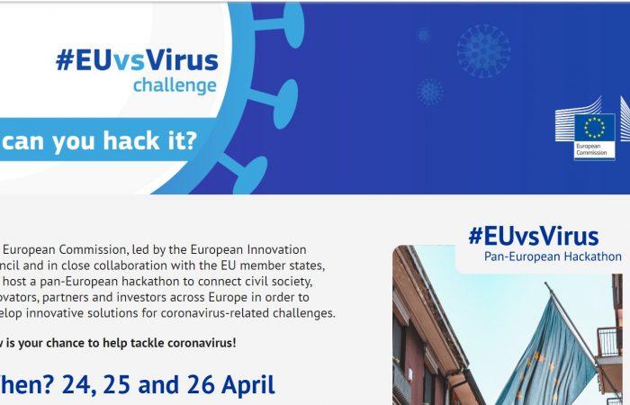 Thirrje e shpallur nga Komisioni Evropian për pjesëmarrje në Hackathon në datat 24-26 prill 2020