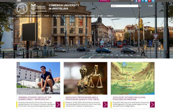 Shtyhet thirrja për aplikime për bursa për studentët në Universitetin Comenius në Bratisllavë për semestrin e parë të vitit akademik 2020-2021.