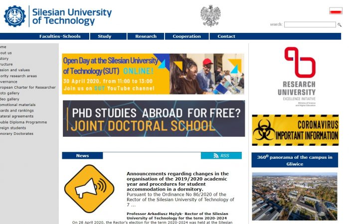 Hapet thirrja për bursa për studentët e Universitetit të Tiranës në Universitetin Silesiantë Teknologjisë, Poloni, në kuadër të Programit Erasmus +