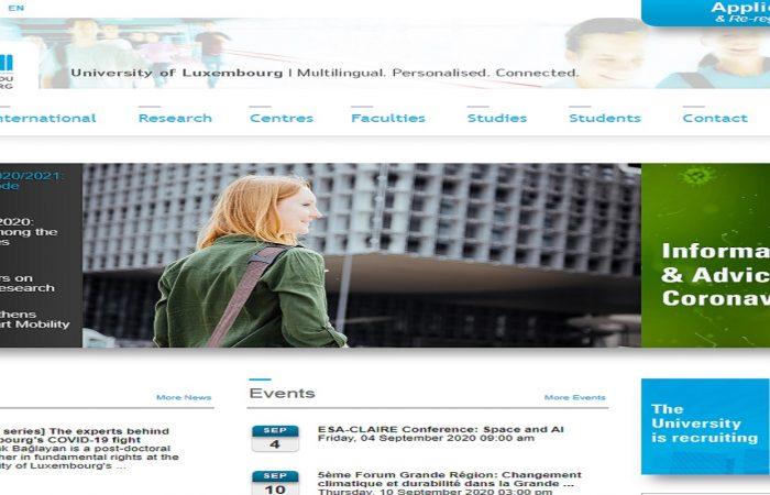 Hapet thirrja për aplikime për bursa për studentët e Universitetit të Tiranës në Universitetin e Luksemburgut, në Luksemburg