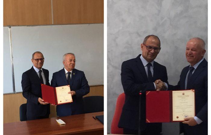 Ceremonia e emërimit të drejtuesve të njësive kryesore në Fakultetin e Ekonomisë dhe në Fakultetin e Historisë dhe Filologjisë