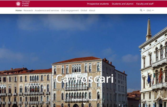 Hapet thirrja për bursa në programin Erasmus + në Universitetin Ca'Foscari të Venecias në Itali për studentët Master dhe PhD në semestrin e dytë të vitit akademik 2020-2021.