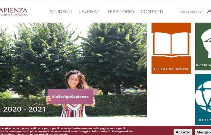Hapet thirrja për bursa në kuadër të programit Erasmus + në Universitetin e La Sapienzës në Itali, për stafin akademik për semestrin e dytë të vitit akademik 2020-2021.