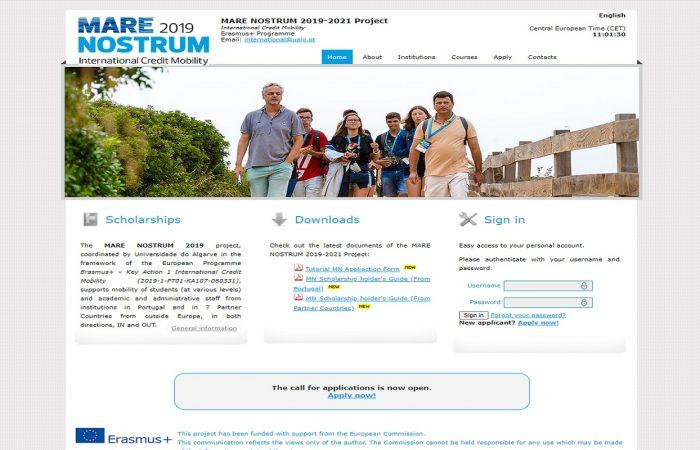 Hapet thirrja për aplikime për bursa për studentët e Universitetit të Tiranës, në kuadër të Programit Erasmus +, në Konsorciumin Mare Nostrum, për semestrin e dytë të vitit akademik 2020-2021.