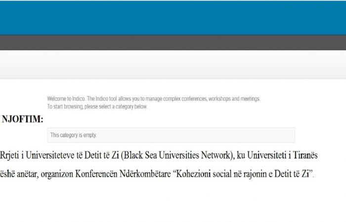 """Rrjeti i Universiteteve të Detit të Zi (Black Sea Universities Network), ku Universiteti i Tiranës ëshë anëtar, organizon Konferencën Ndërkombëtare """"Kohezioni social në rajonin e Detit të Zi"""""""