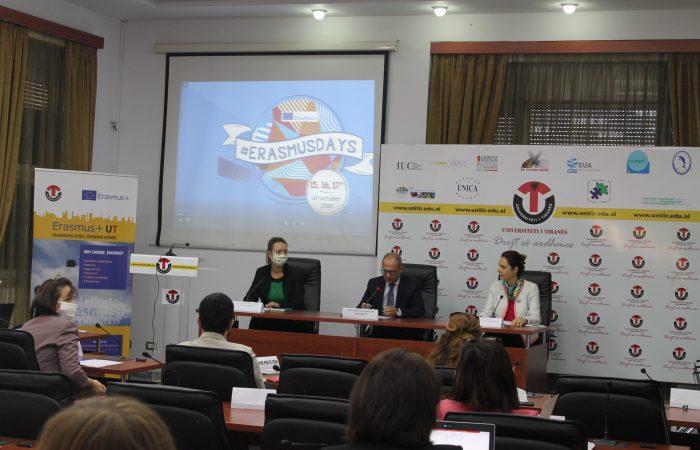 Erasmus + Days 2020 në Universitetin e Tiranës