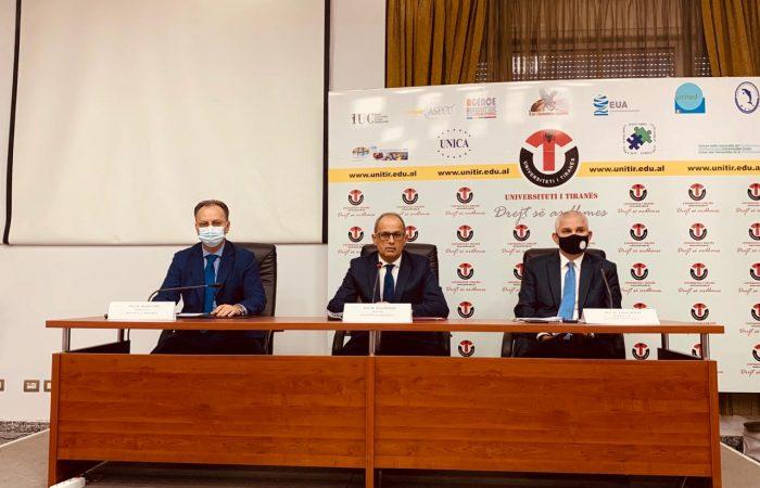 Më datë 19 Tetor 2020 u zhvillua takimi i Konferencës së Rektorëve, me rektorë të universiteteve publike dhe jopublike në Shqipëri.