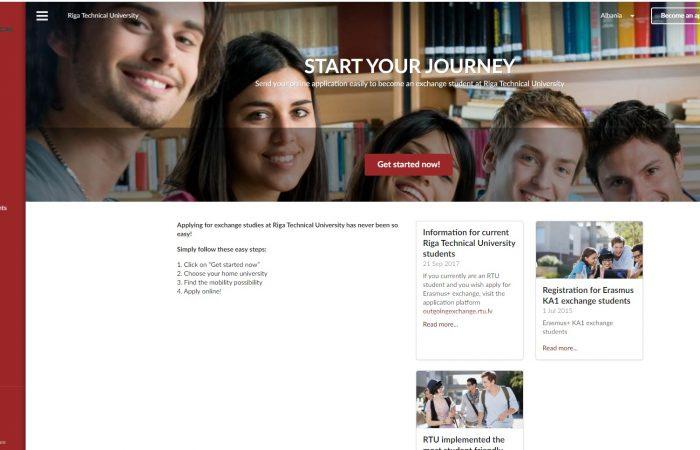Hapet thirrja për bursa për studentët në Universitetin Teknik të Rigës, Letoni në kuadër të programit Erasmus + për semestrin e dytë të vitit akademik 2020-2021.