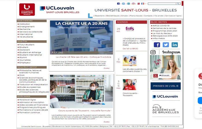 Shtyhet thirrja për aplikime për bursa për studentët në Universitetin Saint Louis në Bruksel, në kuadër të Programit Erasmus +, për semestrin e dytë të vitit akademik 2020-2021