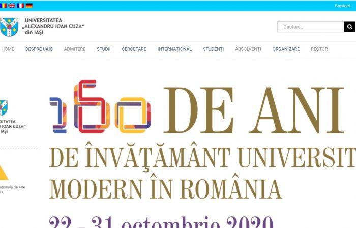 Hapet thirrja për bursa në kuadër të programit Erasmus + në Universitetin Alexandru Ioan Cuza të Iași, në Rumani për semestrin e dytë të vitit akademik 2020-2021