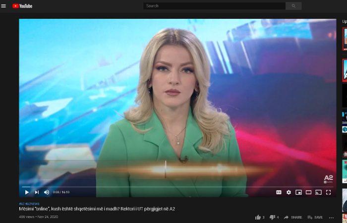 Sfidat e mësimdhënies online-Intervista e Rektorit të Universitetit të Tiranës