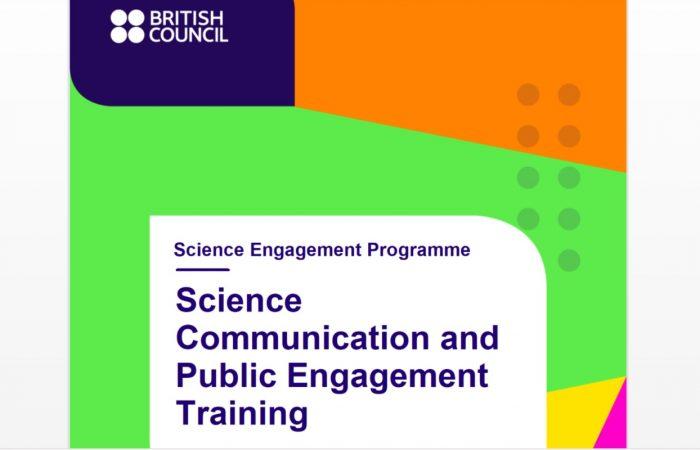 """Këshilli Britanik hap thirrjet për aplikim për pjesëmarrje online në trajnimet me temë: """"Komunikimi Shkencor dhe Angazhimi Publik"""""""