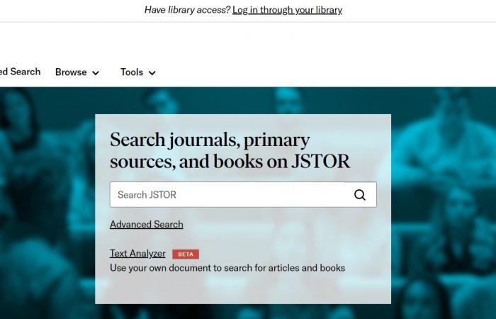 Biblioteka digjitale JSTOR