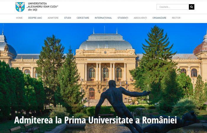 Hapet thirrja për bursa në kuadër të programit Erasmus + në Universitetin Alexandru Ioan Cuza të Iași, në Rumani për semestrin e dytë të vitit akademik 2020-2021.