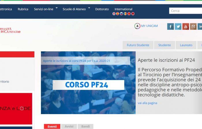 Hapet thirrja për bursa për studentët në kuadër të Programit Erasmus + në Universitetin Camerino, Itali, për semestrin e dytë të vitit akademik 2020-2021