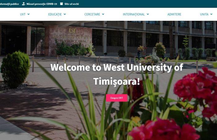 Hapet thirrja për aplikime për bursa për stafin me kohë të plotë të Universitetit të Tiranës në Universitetin Perëndimor të Timisoarës në Rumani, për semestrin e dytë të vitit akademik 2020-2021