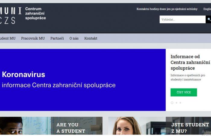 Hapet thirrja për bursa për studentët në kuadër të Programit Erasmus + në Universitetin Masaryk, Republika Çeke, për semestrin e parë të vitit akademik 2021-2022.